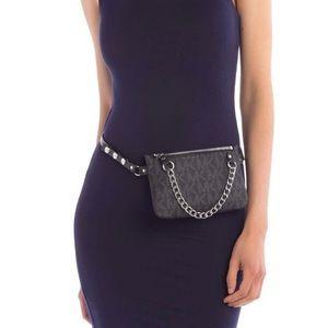NWT MK pull chain belt bag